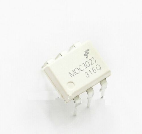 10CS MOC3023 OPTOCOUPLER TRIAC-NO 6 DIP JAUNAS
