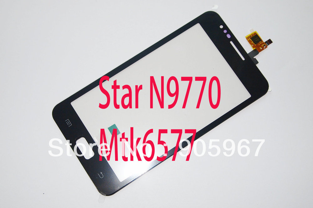 STONERING Capacitive Touch Ekrāns Digitizer Star N9000 i9220 N9770 mobilo telefonu
